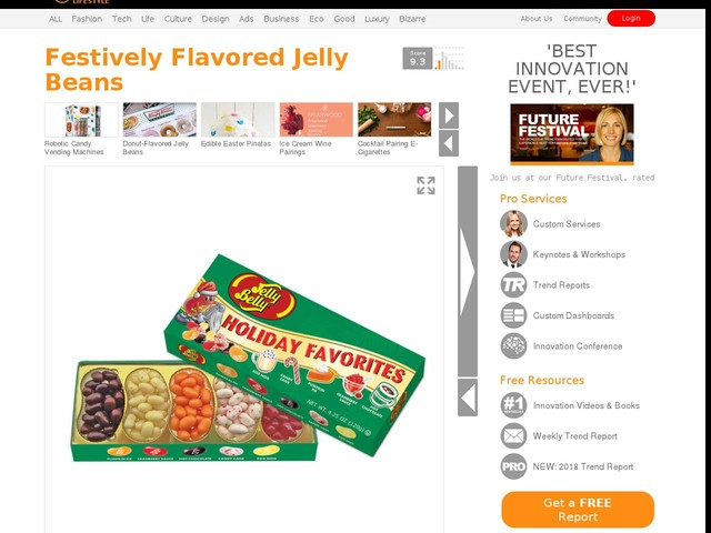 Festively Flavored Jelly Beans - The Holiday Favorites Jelly Beans Taste Like Seasonal Treats (TrendHunter.com)