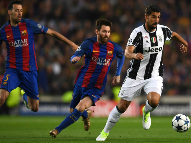 Juventus march on as Barcelona draw a blank