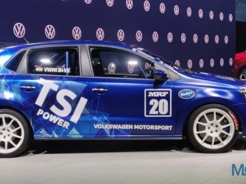 Volkswagen India Unveils its All-Electric ID. CROZZ Concept & TSI Powered RACE POLO at Auto Expo 2020
