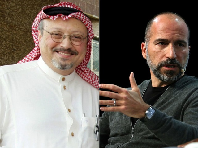 Uber CEO: I was wrong to call Khashoggi murder 'a mistake'