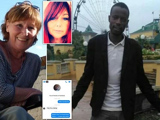 British woman uses Facebook honey-trap to snare her aunt's 'killer' 6000 miles away in South Africa