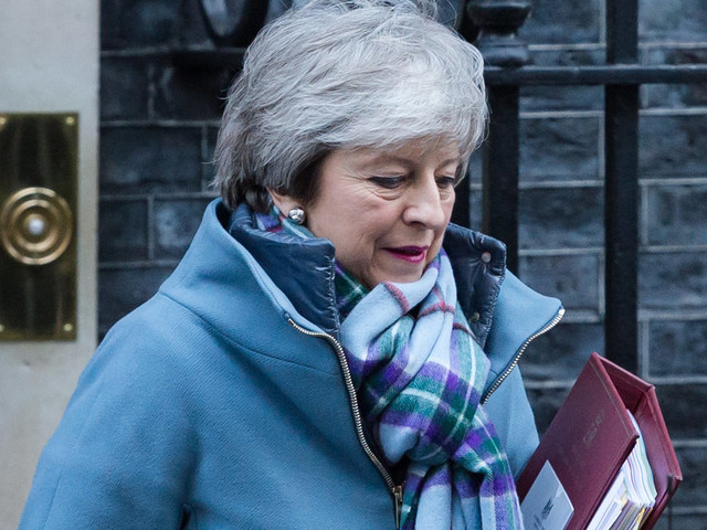 Brexit: Theresa May 'Determined' To Leave EU On Time