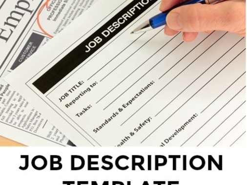 Feb 5, Sample Job Description Template