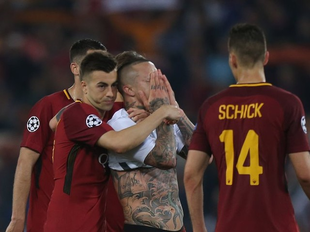 Roma president's fury over referee's performance in Champions League semi-final