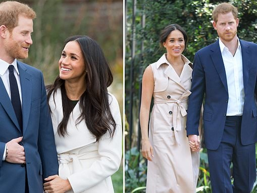 Prince Harry and Meghan Markle discussed their wedding with palace aides a year after meeting