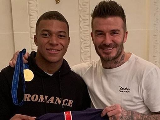 David Beckham wants Kylian Mbappe as his top client after beginning career as a football agent