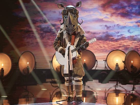 'The Masked Singer' Reveals Another Celebrity Contestant: And the Rhino Is… (Video)