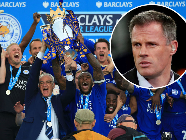 Man Utd Treble winners and Arsenal's Invincibles not as great as Leicester's 2016 miracle men, claims Jamie Carragher