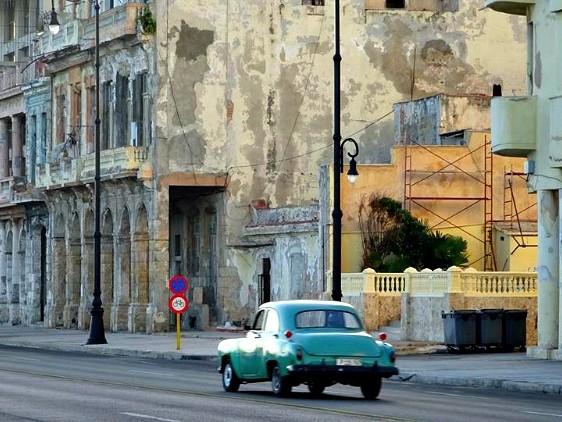 Pic of the Week: Driving through Havana, Cuba