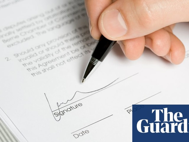 Are banks guilty of faking signatures on British court papers?