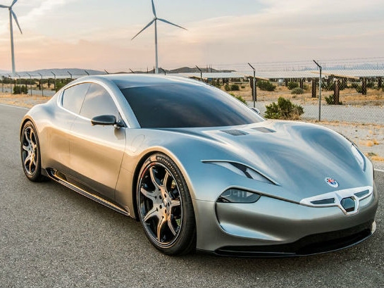 Fisker's Semi-Autonomous All-Electric EMotion Headed To CES 2018