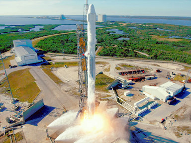 SpaceX poised to launch recycled rocket and spaceship