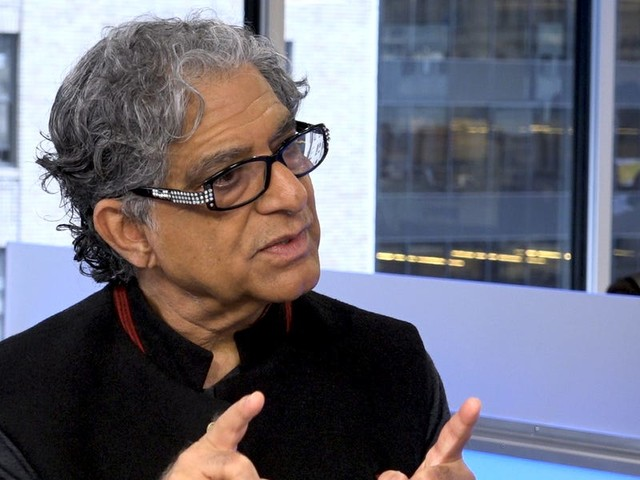 Deepak Chopra explains how to unlock your natural happiness, creativity and productivity
