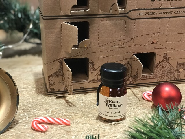 Whisky Advent 2017 Day #12: Evan Williams White Label
