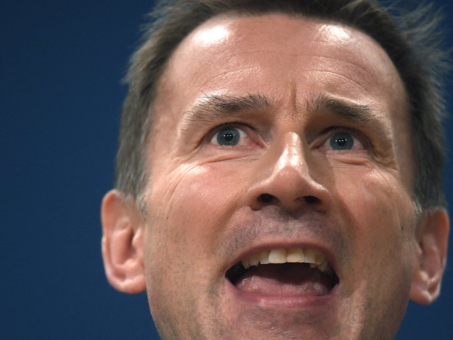 Jeremy Hunt Defends Mental Health Plans By Saying 'Look At Our Track Record' On Nurses
