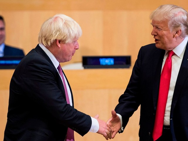 Boris Johnson once said Trump's comments about Muslim immigration showed 'stupefying ignorance' and called him 'unfit' for office