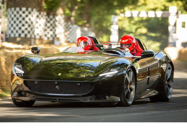 Ferrari Monza SP2 and SP1: full details and ride review on the ultra-exclusive V12s