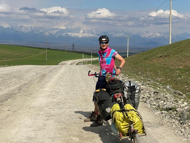 I'm Cycling From Bristol To Beijing During A Pandemic. Here's Why