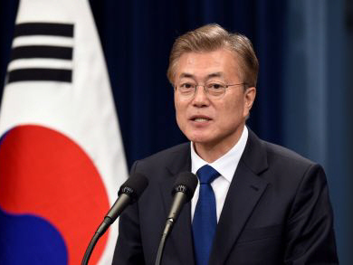 S. Korea's Moon: There will be no war on Korean peninsula
