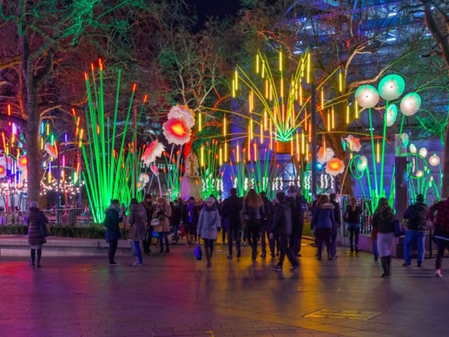 Be Dazzled By These Winter Light Festivals In London