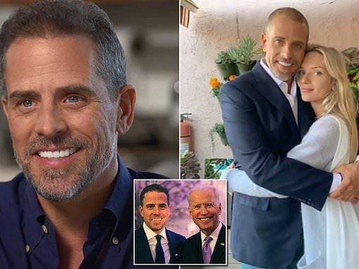Hunter Biden says he 'instantly' fell in love with South African woman he married after SIX DAYS