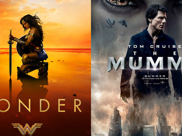 'Wonder Woman' Beats 'The Mummy' at Weekend Box Office