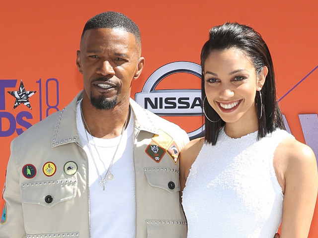 Jamie Foxx Arrives With Daughter Corinne to Host the BET Awards 2018!