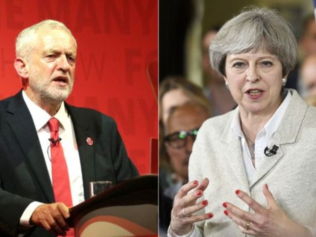PMQs: Corbyn and May on police and prison staff and pay