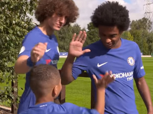 Chelsea give 'best birthday ever' to 9-year-old Bridge Kids member