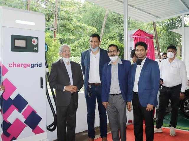India's largest public EV charging station opens in Navi Mumbai