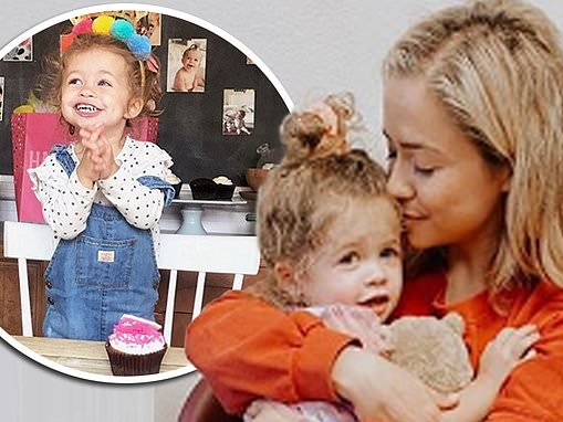 Influencer Ashley Stock reveals daughter, Stevie, three, has died from very rare brain cancer