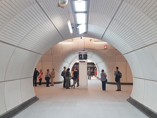 See inside Crossrail's Farringdon Station