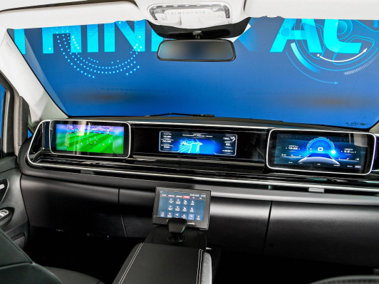 ZF & Faurecia develop operating and display concept for Level 4 AVs without steering wheel & pedals