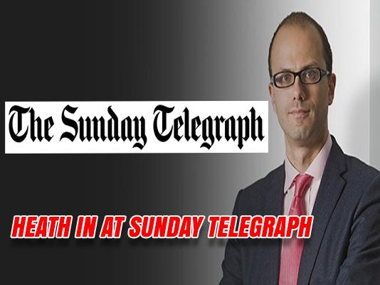 Allister Heath is New Sunday Telegraph Editor