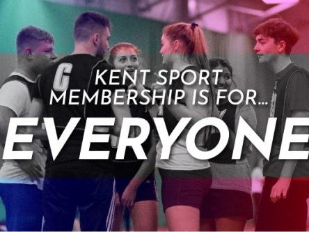 Kent Sport student membership update