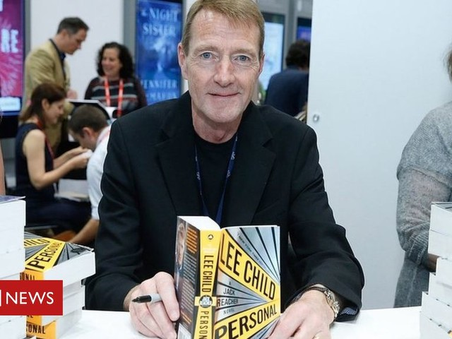 Jack Reacher author Lee Child passes writing baton to brother