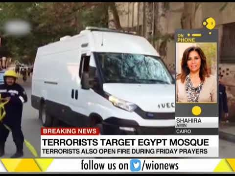 Militant Group Launches Attack In Egyptian Mosque, Killing At Least 184 People