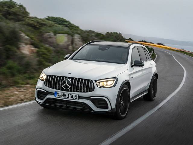 Updated 2019 Mercedes-AMG GLC 63 revealed to rival Porsche Macan