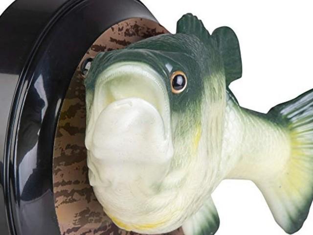This talking fish has Amazon Alexa inside
