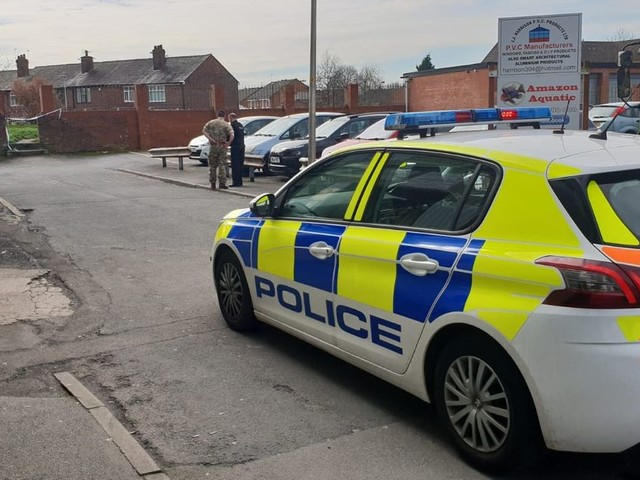 The bomb squad has had a busy day in Wigan