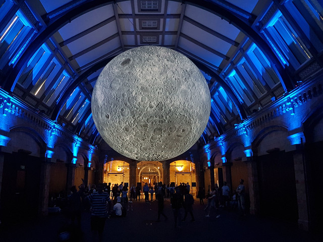 The Museum of the Moon at the Natural History Museum