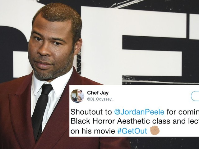 Jordan Peele snuck into a film class and the students went wild