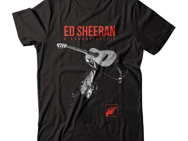Ed Sheeran Launches Limited Edition #ChukuaSelfie Apparel For Charity
