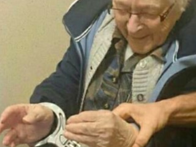 99-Year-Old Woman Gets Arrested As Part Of Her Bucket List