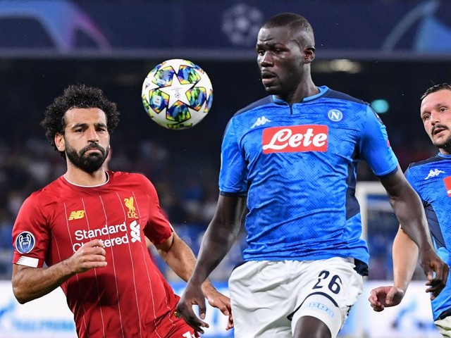 Barcelona join Man Utd in £132m transfer race for Napoli defender Kalidou Koulibaly as scouts swarm to Italy