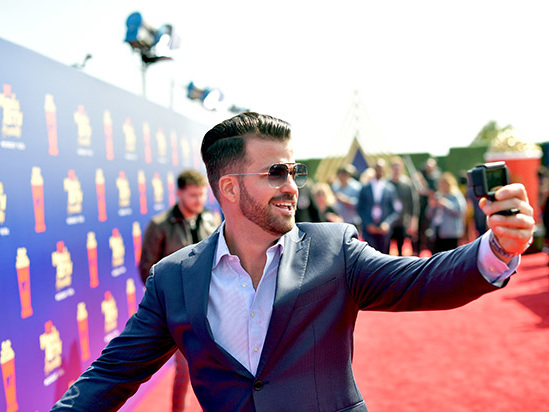 'The Challenge' Star Johnny Bananas Crashes the Stage at the MTV Movie & TV Awards