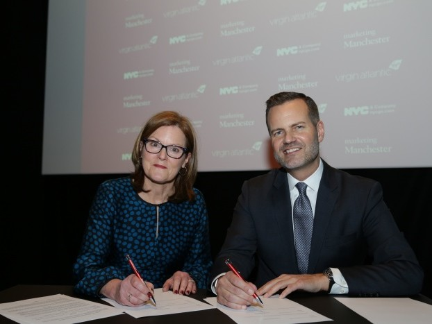 Manchester signs tourism partnership with New York City
