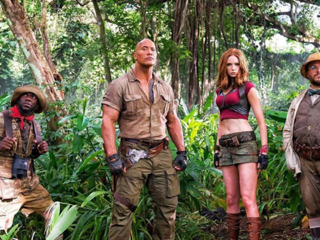 'Jumanji: Welcome to the Jungle': Watch Dwayne Johnson and Kevin Hart in First Trailer