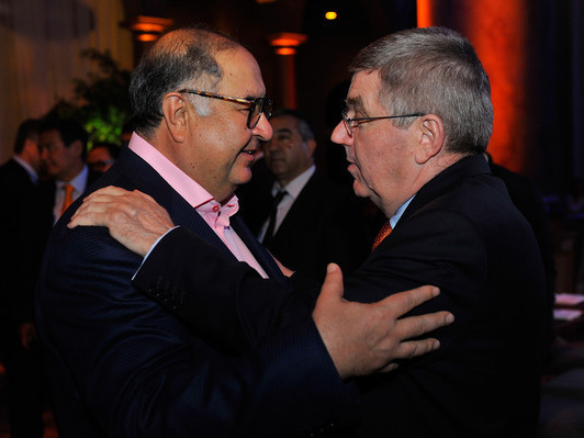 "Usmanov urges Reedie not to turn war on doping into a ""lynching"""