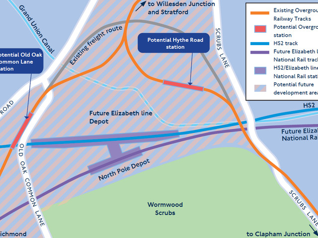 Two new London Overground stations planned for West London